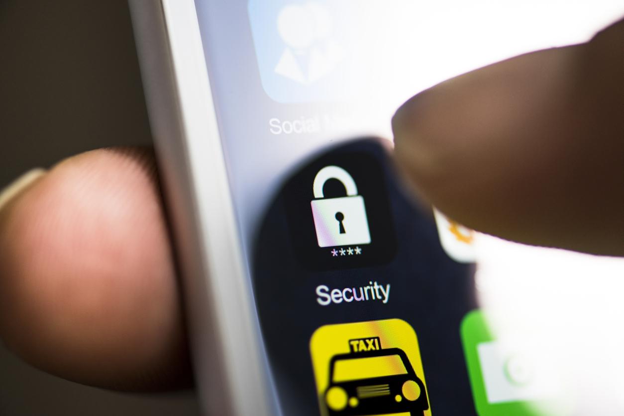 Smartphone sécurisé