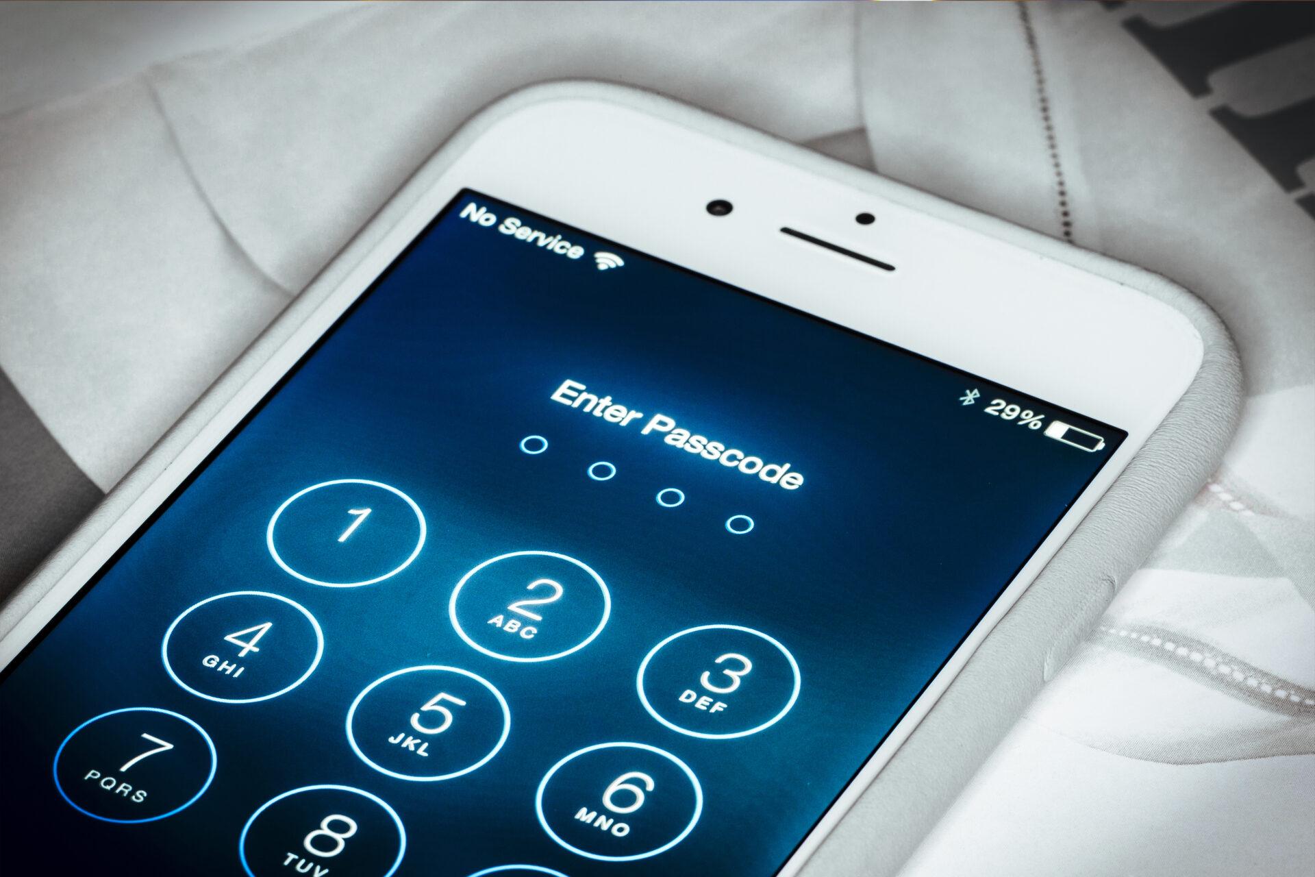 Sécurisation des smartphones, au doigt et à l'oeil