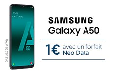 Le Samsung A50 à 1€